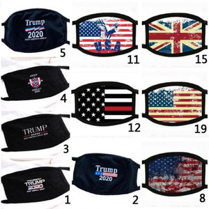 2020 Hot Donald Trump Face Mask Face Mouth Mask Funny Anti-Dust Cotton USA Masks Woman Men Unisex Fashion Winter Warm Washable