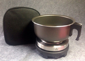 import purchasing 0.9L Portable travel electric cooker +pot + bag 230V 500W 15*15*12cm Electric Stove