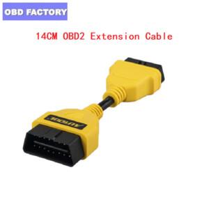 Hot OBD2 Extension Cable for IDIAG Easydiag Pro Pro3 V V+ GOLO Mdiag ELM327 AL519 extend obdii connector OBD adapter