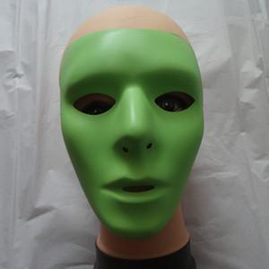 New Halloween Luminous Máscara Facial Hip-Hop FANTASMA Dança máscara JabbaWockeeZ para homens e mulheres