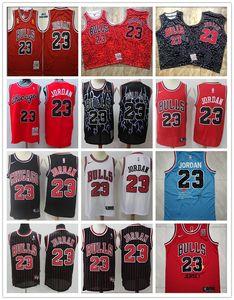 ChicagoBullsUOMINI MichaelJordan 1996-1997 HardwoodClassici pallacanestro Jersey