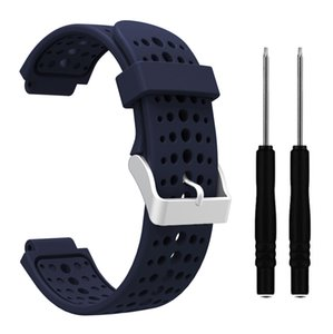 135-235mm Wrist Watch Band Strap Kit For Garmin Forerunner 220 230 235 620 63