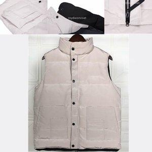 The man vest Down Jacket Parka Canada Men Designer Jackets Vests Men Top Quality Winter Down Mens