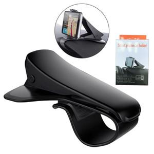 Supporto universale per autoveicoli con supporto per telefono cellulare Cruscotto regolabile HUD Simulazione Design per auto per iPhone Samsung Huawei con pacchetti di vendita al dettaglio