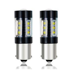 2Pcs P21W PY21W 1156 T20 7440 W21W WY21W 7443 Шарик Canbus LED автомобиля Auto Reverse DRL Fog Lamp 6000K 12-24 Dropship Оптовая