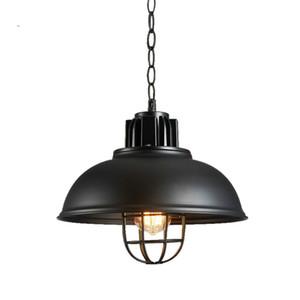 Loft Estilo Industrial Luz Pingente de Iluminação Criativa Lâmpada Pingente de Café Do Vintage Edison Lâmpada de Ferro Luminária Interior Lâmpada Pendurada