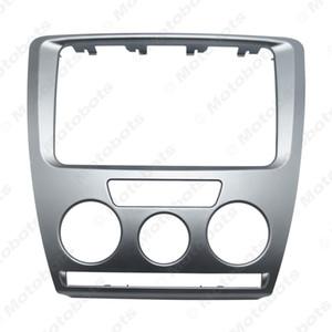 스코다 옥타비아 (07-09) 수동 A / C 간판 트림 설치 마운트 키트 # 3468에 대한 자동차 라디오 스테레오 2DIN 간판 패널 패널