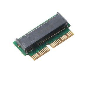 Add On tarjetas PCIe para adaptador M2 M.2 SSD PCIe SSD adaptador M2 Adaptador M.2 NGFF AHCI 2280 SSD 12 + 16 Pin para MacBook Air