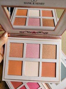 FIORAI BIOOM HIGHLIGHT CONTOUR HANK HENRY blusher 6 color palette blusher palette blusher contour high quality natural makeup Free shipp