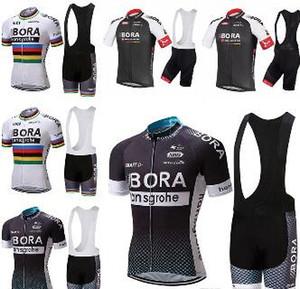 2019 BORA vestiti di riciclaggio bicicletta Jersey della squadra Roupa Ciclismo bicicletta Suit esterna bicicleta sportivo a maniche corte