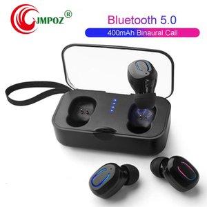 Ti8S T18S TWS Mini sem fio Bluetooth fones de ouvido Binaural chama tanto a música Side Brincadeiras Headphone Esporte Ture Fones de ouvido estéreo Em Ear Headset
