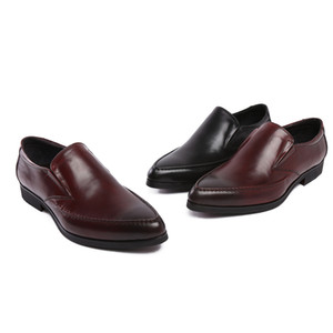 High Quality Men Shoes Oxfords Leather Shoes Comfortable Oxfords Formal Wear Work Wear
