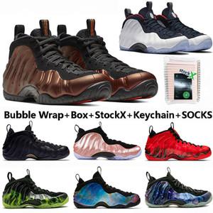 2020 avec la boîte Mousses une alternative Galaxy Hardaway Hommes Chaussures de basket-ball Pro USA Crimson Olympic Penny Designer de sport Chaussures de sport pour hommes Formateurs