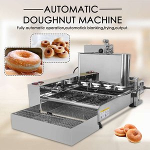 Free shipping commercial automatic 4 rows mini donuts making machine 110v 220v doughnut maker frying donuts electric donuts making fryer
