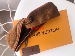 Avec Fashion Box haute qualité velours doux bandeau haut luxe gaufrage bandes de cheveux vintage design nobles femmes foulard