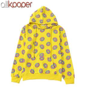 ALLKPOPER KPOP GOT7 هوديس مارك فقط الحق دونات هوديي BTS جونغ كوك Sweatershirts إكسو هوديي كاي هدية المفاتيح XL026208