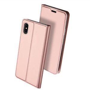 حالة المحفظة الهاتف الفاخرة لفون X XR XS ماكس 7 6 6S زائد S8 S9 S10 5G note 9 10 هواوي Xiaomi شعور البشرة ناعمة الوجه هال شل GSZ305