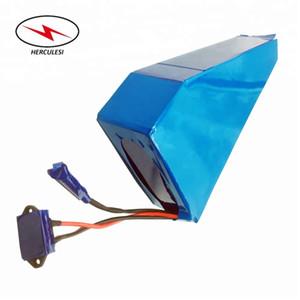 recargable 13S6P 48V de iones de litio paquete de 48Volt 18Ah para el triciclo eléctrico