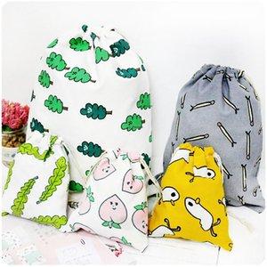 Yilan Candy storage cotton bouquet small cloth drawstring storage wedding candy cosmetics finishing bag cloth bag