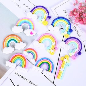 Addition Slime Charms for Slime Supplies Filler DIY Polymer Soft pottery rainbow Accessories Toy Lizun Model for Kid Toys Gift