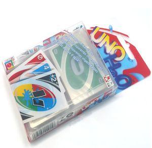 البلاستيك الشفاف أوراق اللعب للماء لوحة ورقة ورقة أضعاف الترفيه عبة عائلة لعبة ممتعة لعبة البوكر القواعد الروسية