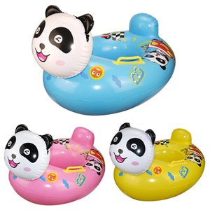 New children's seat swimming ring cartoon swimming ring infant toys inflatable panda seat seat floats wholesale