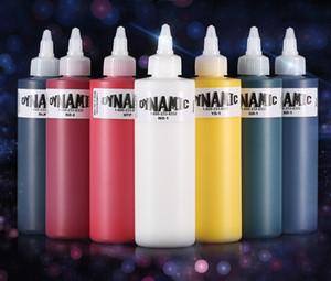 originais tatuagem tinta dinâmico tinta de tatuagem avançada 250ml / garrafa (7colors) tinta de tatuagem