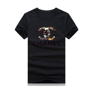 camisetas de ropa de lujo de los hombres de la marca y de las mujeres al por mayor de los diseñadores 3D corona de impresión s-5XL de talla grande camiseta o-cuello de manga corta chándal vendimia