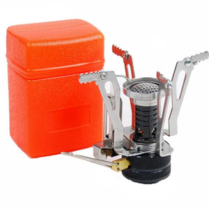 Stufa Mini Camping Stufe che piega a gas fornace portatile Cooking picnic Split Stufe Fornello Bruciatori nuovo arrivo K200gG