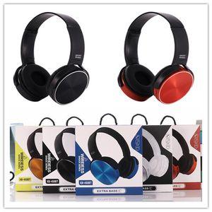 سماعات بلوتوث لاسلكية عقال سماعات باس باس سماعة سلكية موسيقى ستيريو مع Micro XB450 لحزمة البيع بالتجزئة Cellphone DROP