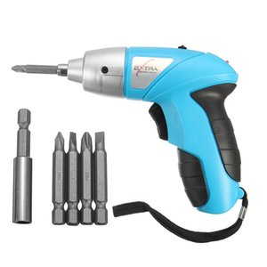 3.6V Electric Screwdriver Rechargable Cordless Power Screw Driver Tool With Bits