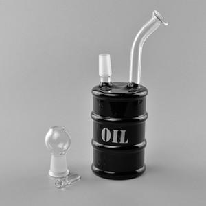 Нефтяных вышки затяжек High Tech Стеклозавод Oil Barrel Rig с мужскими 14.5ммами Joint Бент шейных 7 дюймов --Defect Clean
