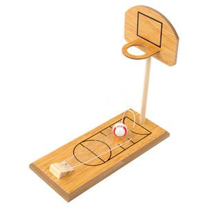 Творческие Дети Мини Деревянной доски игра Настольных игрушек Боулинг Баскетбол игра Дети Декомпрессия игрушка подарки