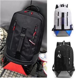 J-4480 unisex mochilas para portátiles Los estudiantes del bolso de escuela de baloncesto Bolsos Zapatos Casual mochila mochila de viaje de gran capacidad Buena