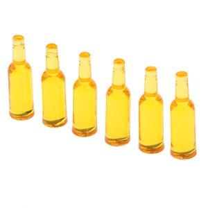 Cuisine Mini boisson bouteilles de jus de vin pour 01h12 échelle Dollhouse