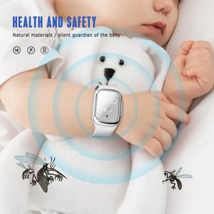Ultrasons pour éloigner les moustiques Bracelet électronique portable anti-moustique montre bracelet pour enfants Anti anti-moustique Bracelet CCA12215