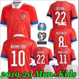 HOMEM + KIDS Cup 2019 Rússia PRINCIPAL Futebol 19 20 Arshavin MIRANCHUK Zhirkov Erokhin Kombarov Smolov criança Football Shirt Europeia