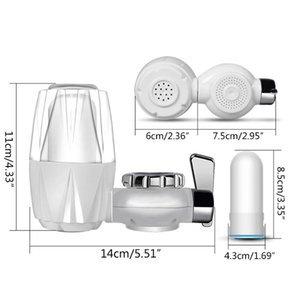Kitchen Faucet Mount Filter Household Water Tap Purifier 7 Layers Filtering Kit 649E