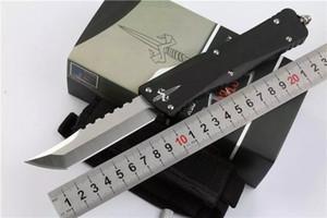 автоматизация MICROTECH нож перехватчик нож Bowie / Hellhound Tanto / Копье точка D2 сталь лезвия ножей тактический нож рука EDC ножи
