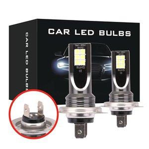2PCS H7 12V 6000K 24000LM LED Fog Light Bulb СНТ День Чип идущий LED фар автомобиля 110W IP68 высокого ближнего света автомобиля Стайлинг