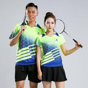 Бесплатная печать New Qucik dry Badminton спортивная одежда для женщин и мужчин, одежда для настольного тенниса, спортивный костюм для тенниса, наборы для бадминтона 232