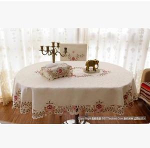 tovaglia ellittica All'ingrosso-modo coprisedie tavolo ovale della copertura della sedia del panno del tessuto tovaglia forma ovale