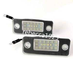 lampes plaque d'immatriculation de la voiture LED pour Audi A8 D3 (02-10) Prix usine Led éclairage de la plaque 13.5V 6000K