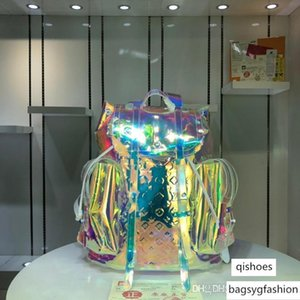 LoVuitto Christopher Monogram Backpack Prism translucent M53286 VirgilAblo Size: 44x49x22 CM