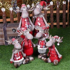 Rote Zahlen Weihnachtsmann Schneemann Elk Angel Girl Frohe Weihnachtsgeschenk für Kinder, Liebhaber, Freund Weihnachtsdekorationen für Haus Navidad