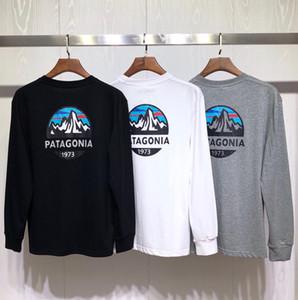 Patagônia montanha camisetas 19fw Designer Homens New Outono Primavera Harajuku Tops fdshlzj