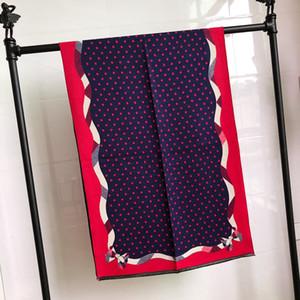 Luxury women's scarf high quality cashmere classic dot pattern designer cashmere scarf fashion thick cashmere shawl 70*180cm