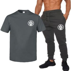 RIP Nipsey koşuşturmasından Erkek eşofman Yaz Tasarımcı Erkek tişörtleri pantolonları 2adet Giyim Setleri Şort Pantolon Suit