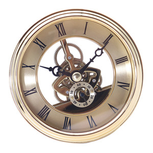 97mm Dial Roman Numeral Watch Quartz Insert Movement DIY Part Battery Opearted fit 91mm Clock Bezel Replace Findings
