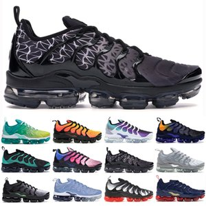 Горячая мода TN Plus Кроссовки Spirit Teal Лимон Лайм тройной черный мужская дизайнерская обувь Женщины Кроссовки Пешие прогулки спортивные кроссовки